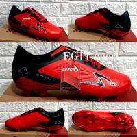SEPATU BOLA SPECS ACCELERATOR NEW - Red Black 1, 38