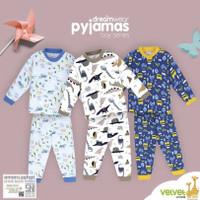 Velvet Junior Piyama Baju Tidur Anak Laki-Laki Big 2 3 4 5 6 7 8 9 10