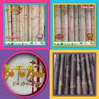 (Murah) Tirai kerai bambu hitam ati/aten Kerai/kere/keray/krey/tirai - 1x2