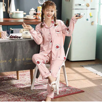Piyama Baju Tidur Wanita Import PP Fashion Lengan Celana Panjang 7508 - M