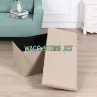 Kursi Tempat Duduk Sofa Bangku Kotak Penyimpanan Barang Box Organizer