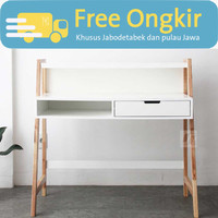 Nayanika Furniture - Meja Kerja Esthetik Minimalis - MARIGOLD 3