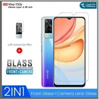 Tempered Glass Vivo Y53s Anti Gores Kaca Camera belakang