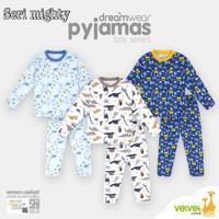 Piyama anak Velvet Junior big size 9 usia 8 - 9 tahun baju tidur