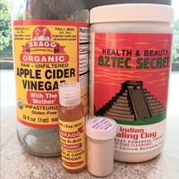 20gr Aztec Secret Indian Healing Clay Mask + 30ml Cuka Apel ACV Packag