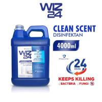 Wiz24 Wiz Disinfektan cair jerigen 4liter refill