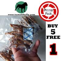 PROMO 5 FREE 1 - Junior Turkey Feet Dehydrated Dog Snack Treat Anjing