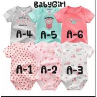 Baju Bayi Perempuan Import Usia 6 – 12 bulan