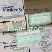 Supercare Masker Medis Surgical 3ply 1box 50pcs