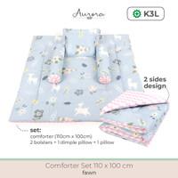 Aurora Baby Comforter Set Selimut Bantal Guling Bayi