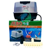 Jebo P50 P-50 Pompa Udara Aerator Hi-Flow Air Pump Blower Aquarium
