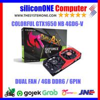 Colorful GTX 1650 NB 4GD6-V (DUAL FAN) GTX1650