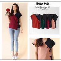 Pakaian Wanita Blouse Mika