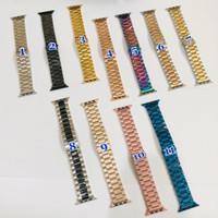 Strap Apple Watch Stainless Steel Untuk Series 1 2 3 4 5 SE 6