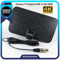 Antena HD TV Analog Digital Indoor Genuine Product 100% Original