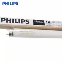 Lampu Neon Philips original TLD 18watt putih, panjang 60 cm