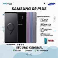 Samsung Galaxy S9+ 6/64GB Second Original Mulus 100% Perfect Fullset