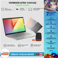 Asus Vivobook K413JQ VIPS551 i5-1035G1 MX350 8GB 512ssd 14FHD OHS W10