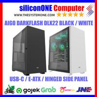 AIGO DLX 22 BLACK WHITE DARKFLASH ATX LUXURY DLX22 EATX