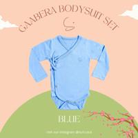 SURICACA Gaabera Bodysuit Set Baby Jumper Setelan Bayi Baju Kimono -3A - Blue, 12-18 Bulan