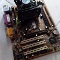 Motherboard + Pentium 4