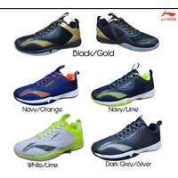 sepatu badminton li ning Cloud Ace G8 navy lime - 41