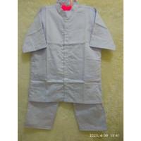 Baju Seragam Perawat Pria Lengan Pendek Kerah Shanghai ( MERK TIARA )