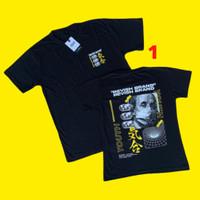 Baju T Shirt Kaos Couple Kapel Coupel Cowok Pria Cewek Wanita Hitam