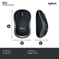 Mouse Wireless murah Logitech B175 Original Garansi Resmi
