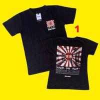 Baju T Shirt Kaos Kaus Couple Kapel Cowok Laki Pria Cewek Wanita Hitam