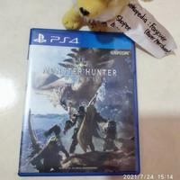 BD PS4/ Kaset PS4 Monster Hunter World PS4