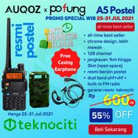 POFUNG UV-5R HT Postel / UV5R Handy Walkie Talkie + Case / Casing