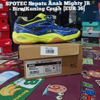Sepatu Badminton Anak Spotec Mighty Jr size 36