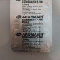 Aromasin 25 mg ecer per 1 butir