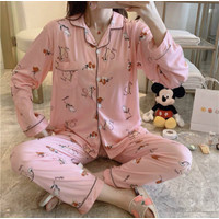 Piyama Baju Tidur Wanita Import PP Fashion Lengan Celana Panjang 7502