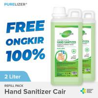 Hand Sanitizer Cair 2 Liter PURELIZER Refill Handsanitizer 1L x2 pcs