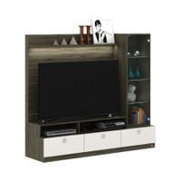 Wall Unit/Rak Tv pembatas ruangan seri NEXA WU 181 merk ACTIV
