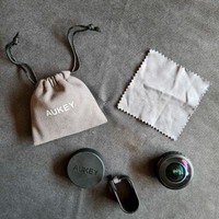 Aukey Optic Pro 238 (GoPro Effect) Fish Eye Wide Lens Clip Smartphone