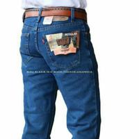 jeans standart regular fit 505 / celana jeans pria krem /standar basic