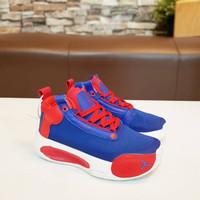 Sepatu Anak Nike Air Jordan 34 import Blue Red White - 31