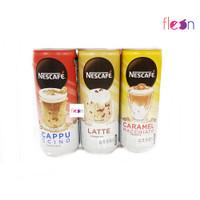 Nescafe Caramel Macchiato / Latte / Cappuccino Kopi KALENG 220 ML