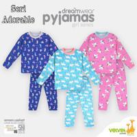 Piyama anak Velvet Junior big size 8 usia 7 - 8 tahun baju tidur