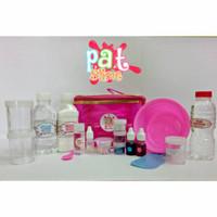 Paket Bahan Membuat Slime BT21 BTS Mainan Anak Slime