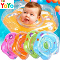 Pelampung Renang Anak Bayi Leher / Ban Neck Ring Baby / Mainan Mandi - Pink