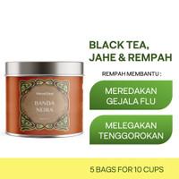 BANDA NEIRA   Mini Tin   Haveltea   Teh Rempah Herbal   Teh Hitam Jahe - Loose Leaf 15g