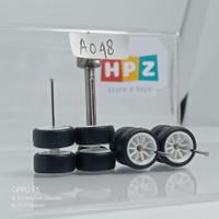Ban Karet hotwheels CE28 Mattel White