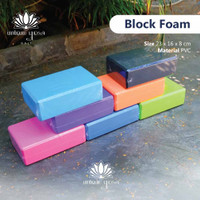 [[TERMURAH]] Suppliyer Alat Yoga Foam Yoga Brick / Balok Yoga