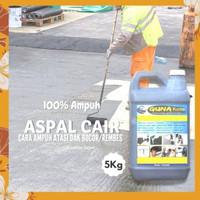 Aspal Cair 5kg Anti Bocor Dak Pelapis Atap Asbes Genteng