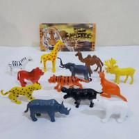 Mainan Hewan Karet Wild Animal Binatang Kecil Mini Kingdom Termurah