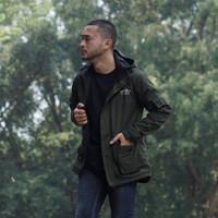 Jaket Pria Parka Windbreaker Force Kekinian Matt Canvas Baby Premium